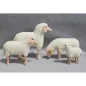 petit mouton laine paturant 50 cm meier 40201