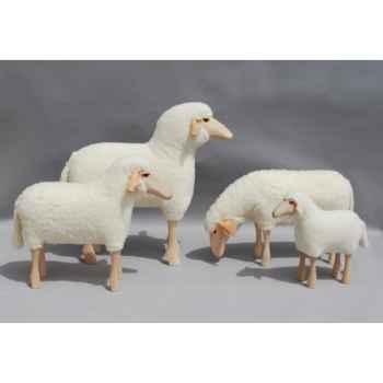 Petit mouton laine pâturant 50 cm Meier -402.01