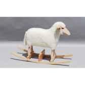 mouton a bascule blanc siege a 48 cm meier 41206