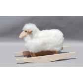 mouton a bascule blanc siege a 42 cm meier 41216