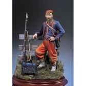 figurine zouave en 1863 sg f042