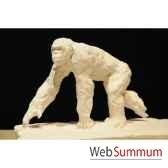 chimpanze qui marche borome sculptures chimp4