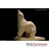 ours humant en platre borome sculptures ourshumant