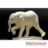 elephanteau iringa en platre borome sculptures eleiringa