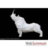 rhinocerosen resine borome sculptures