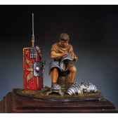 figurine soldat romain dans un campement en 125 ap j c sg f022