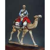 figurine mehariste soudan en 1884 sg f019