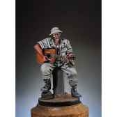 figurine vietnam blues en 1970 guitariste sg f006