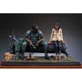 figurine repas dans la jungle vietnam en 1970 sg s01