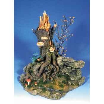 Figurine - Paysage avec cèdre - AS-005