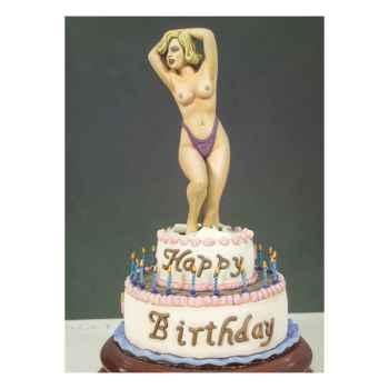 Figurine - Kit à peindre Joyeux anniversaire - G-004