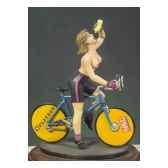 figurine kit a peindre cycliste g 005