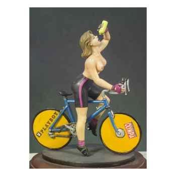 Figurine - Kit à peindre Cycliste - G-005