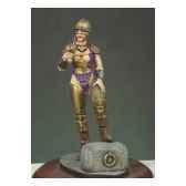 figurine kit a peindre fille gladiateur g 007