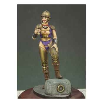 Figurine - Kit à peindre Fille gladiateur - G-007