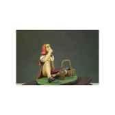 figurine kit a peindre le petit chaperon rouge g 008