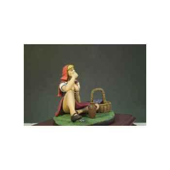 Figurine - Kit à peindre Le Petit Chaperon rouge - G-008