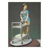 figurine kit a peindre infirmiere g 010