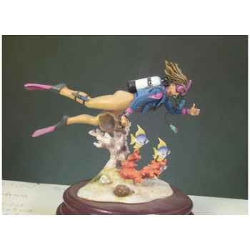Figurine - Kit à peindre Plongeuse - G-014