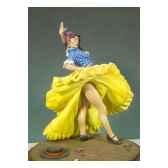 figurine kit a peindre danseuse espagnole g 020