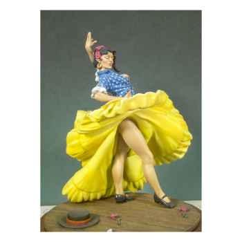 Figurine - Kit à peindre Danseuse espagnole - G-020