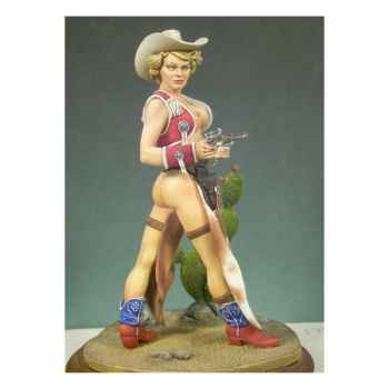 Figurine - Kit à peindre Cow-girl - G-022