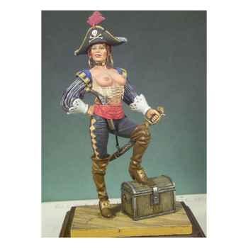 Figurine - Kit à peindre Fille pirate - G-026