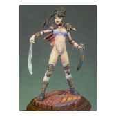 figurine kit a peindre fille manga g 038