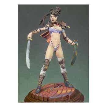 Figurine - Kit à peindre Fille manga - G-038