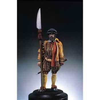 Figurine - Kit à peindre Archer de Bourgogne - S2-F1