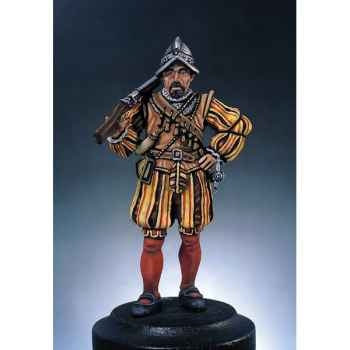Figurine - Kit à peindre Arquebusier - S2-F3