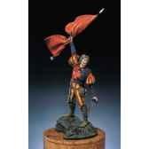 figurine kit a peindre lansquenet porte etendard s2 f9