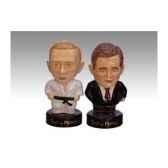 figurine saleron homme politique bush et putin sp01