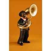 figurine jazz le tuba 3169