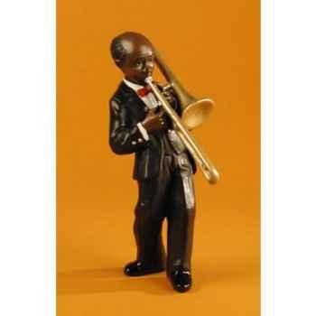 Figurine Jazz  Le trombonne - 3164