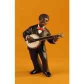 figurine jazz le banjo 3172
