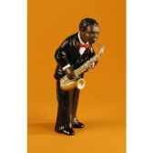 figurine jazz le 1er saxophoniste 3165