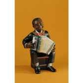 figurine jazz accordeoniste 3177