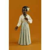 figurine jazz la chanteuse en robe blanche 3183