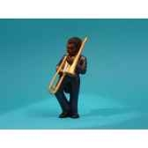 figurine jazz le trombonne 3308