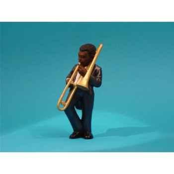 Figurine Jazz  Le trombonne - 3308