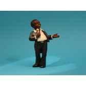 figurine jazz le chanteur 3313