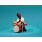 figurine jazz le batteur 3302