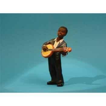 Figurine Jazz  Le banjo - 3312