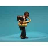 figurine jazz le 2eme saxophoniste 3307