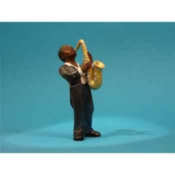 Figurine Jazz  Le 1er saxophoniste - 3306
