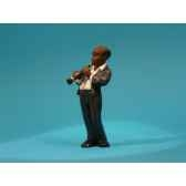 figurine jazz la clarinette 3309