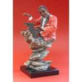 figurine just jazz piano wu71868