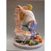 figurine metier par profisti le macon pro08