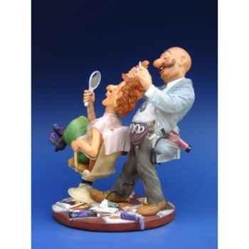 Figurine métier par Profisti -  Le coiffeur - PRO05